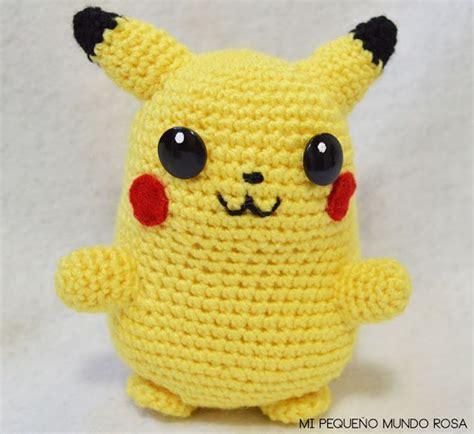 to pattern en espanol pikachu amigurumi pokemon patr 243 n gratis en espa 241 ol e