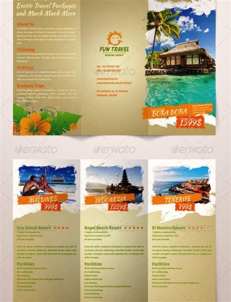 tri fold  brochure template leann caraway