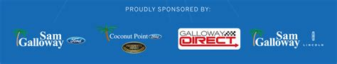 galloway mazda 2014 sponsors and order and order