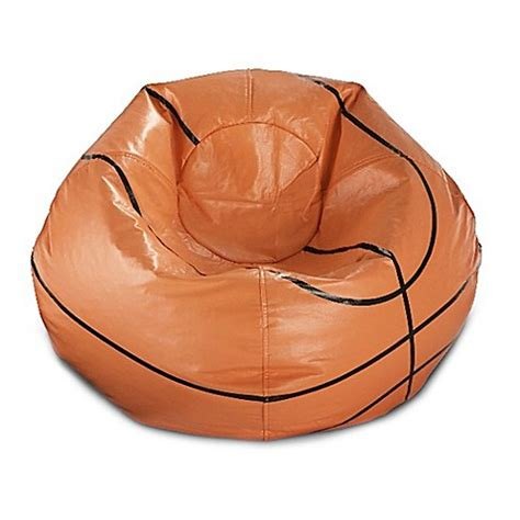bean bag rounds basketball bean bag in matte orange black www