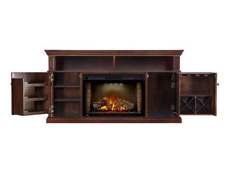 fireplace console winston electric fireplace media console in espresso