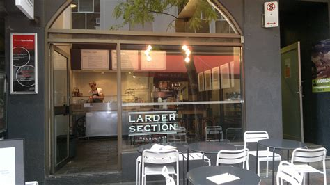 Larder Section Cafe Melbourne