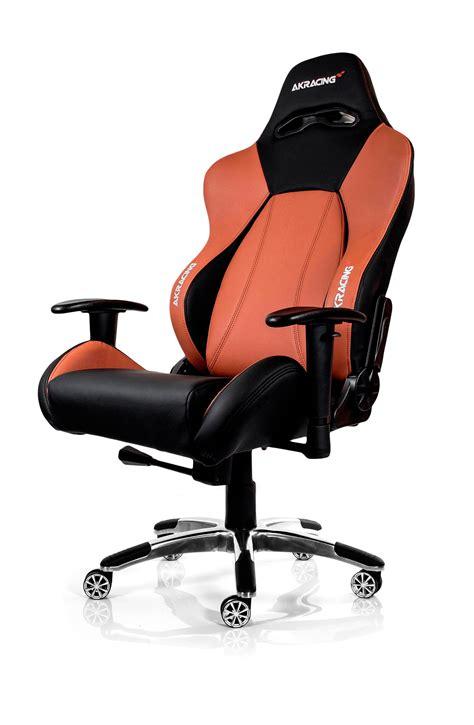 Akracing Chair by Akracing Premium Gaming Chair Black Brown Ak 7001 Bb