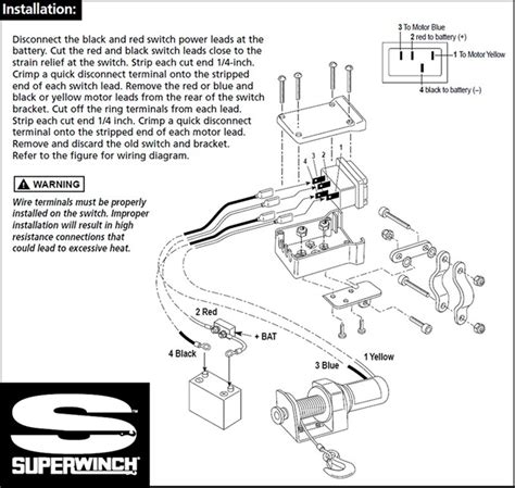 replacement switch  older model superwinch electric winch etrailercom