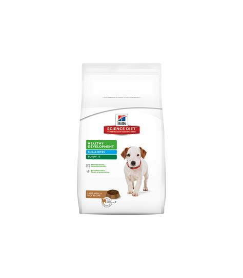 science diet puppy small bites hill s 174 science diet 174 puppy healthy development small bites meal rice recipe