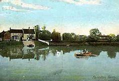 ferry boat wilford river trent wikipedia