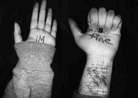 imagenes suicidas i m fine gdy żyletka staje się przyjacielem samookaleczanie