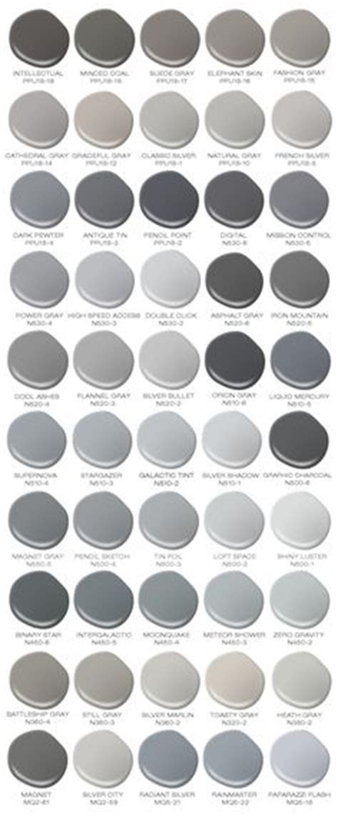 shades of grey paint interior decorating with color cool hues tones gray