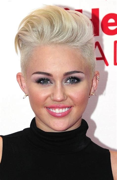 what is miley cyrus short hair style called miley cyrus new short haircut 2013