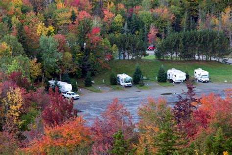 nh rv parks and cgrounds north woods white mountains the