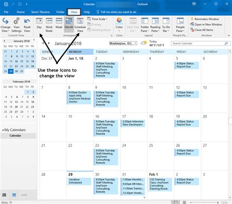 Add Outlook Calendar To Calendar Ms Outlook Calendar How To Add Use It Right