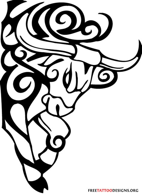 tribal bull tattoo bull 50 taurus tattoos