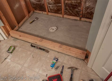 How To Install Tile In Shower by How To Install Ceramic Tile On A Shower Floor How To