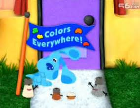 colors everywhere colors everywhere blue s clues wiki