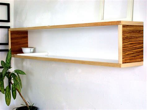 modern wall shelf decor for home or office book by
