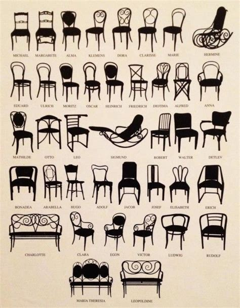 Chair Names - 18 best images about chair styles and types on