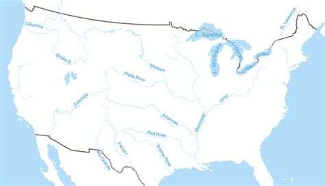 map of the united states rivers lakes and mountains united states temperature cellular coverage road