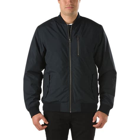 Jaket Parasut Vans barlowe bomber jacket shop jackets at vans