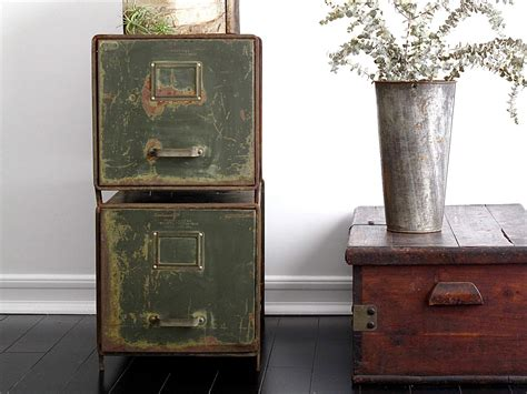 Vintage Filing Cabinets by Metal File Cabinets Industrial Office By Snapshotvintage