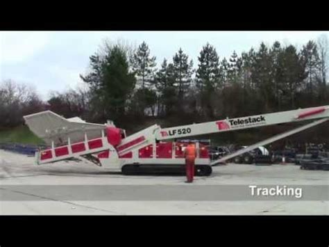 ts 1024 tracked telescopic conveyor features and gene