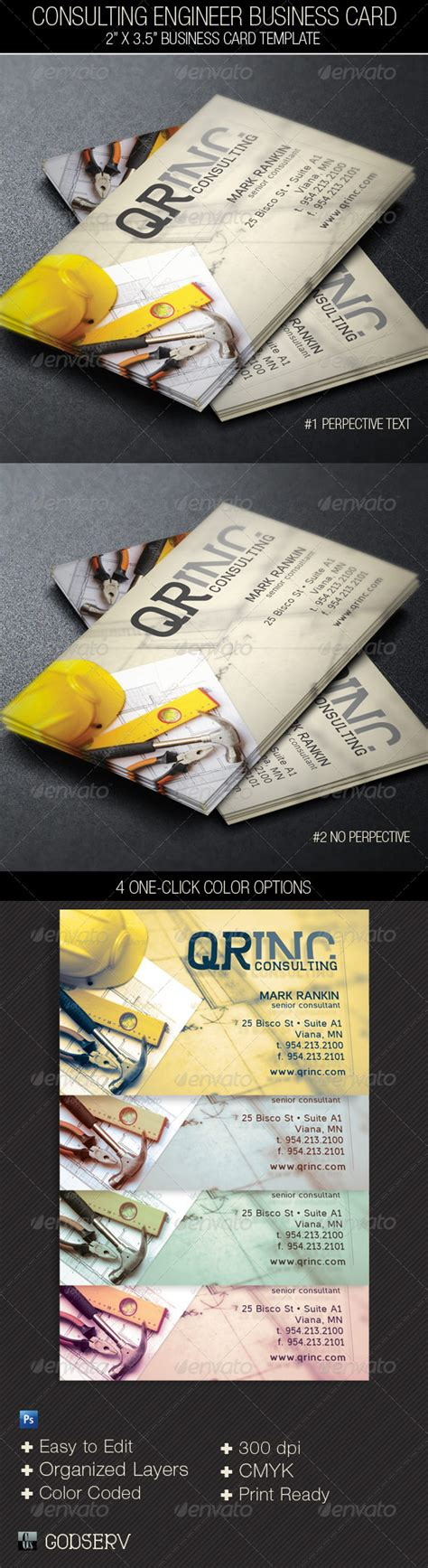 engineering business card templates free consulting engineer business card template graphicriver