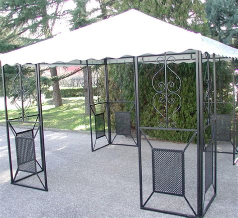 gazebo in ferro 3x3 linea giardino friendly gazebo 3x3 in ferro battuto