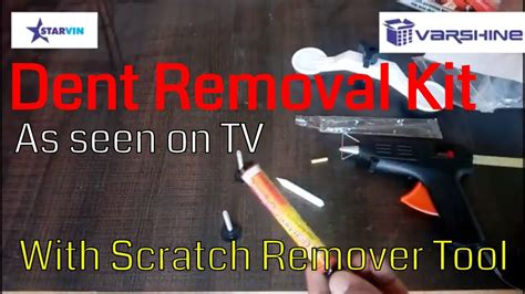 Pops A Dent As Seen On Tv Ketok Magic Mobil Penyok Dining Car Tray dent mechanic dent remover tool as seen on tv pops a dent unboxing and how to use