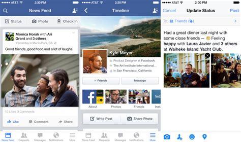 facebook photo album layout facebook for ios gets a new ipad design