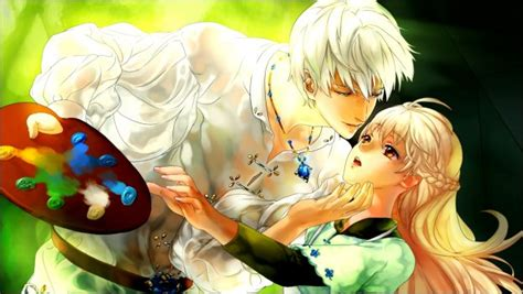 Anime Couple Love Pics Beautiful Anime Couple Wallpaper Hd Images One Hd