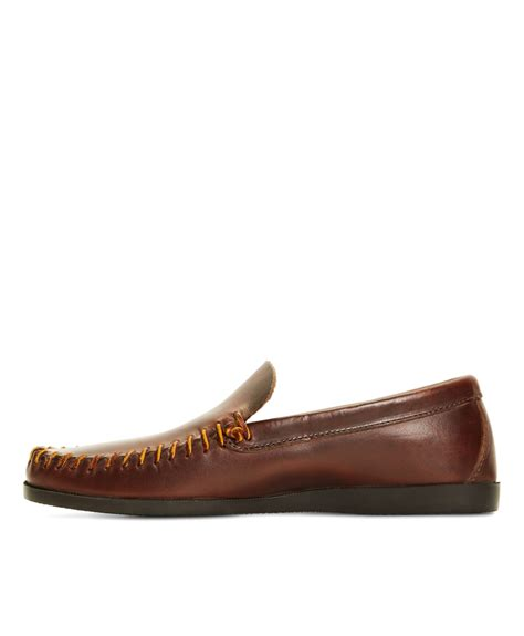 rancourt loafers brothers rancourt co leather whipstitch vent