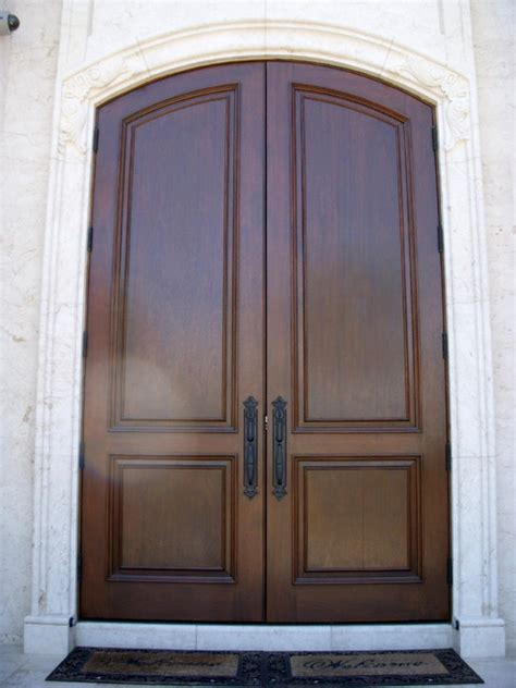 Refinishing Exterior Door Refinishing Wood Doors Mediterranean Exterior Ta By Integrity Finishes Of Ta Bay
