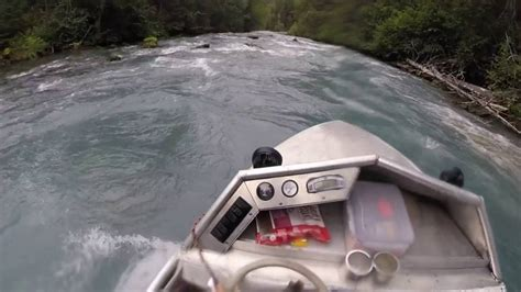 mini jet boat for sale alaska alaska mini jet boat river run down youtube
