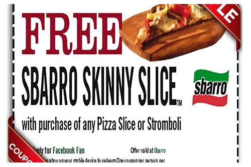 sbarro coupons printable