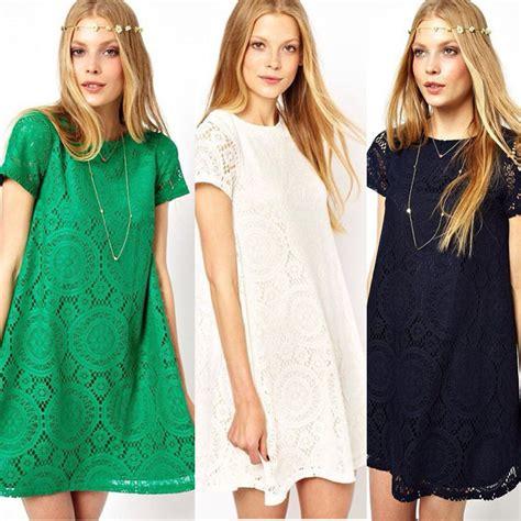 Dress Bali Renda mobaju pesta untuk orang pendek wanita baru lengan