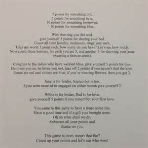 wedding shower poems for gifts another bridal shower poem