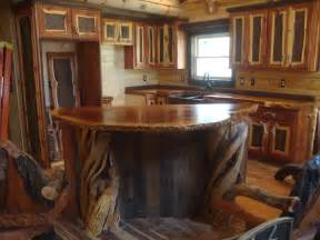 Rustic wood bar tops the unique wood counter tops crafted out of old
