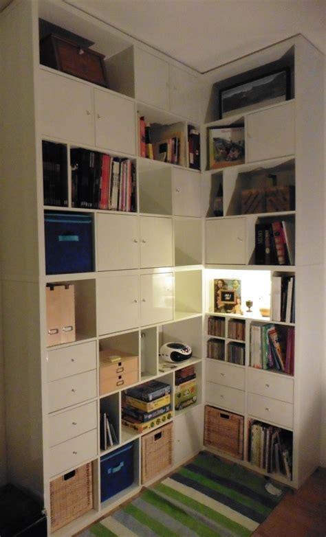 bureau sur mesure ikea une biblioth 232 que d angle sur mesure avec kallax