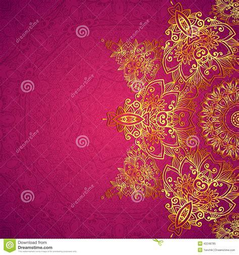 free indian wedding card vector purple ornate vintage wedding card background stock vector image 42248785