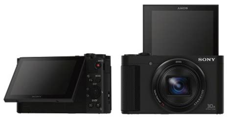sony gives two 30x compacts the ability to take selfies