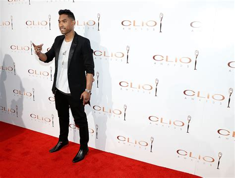 miguel photos photos arrivals at the clio awards in nyc miguel photos photos arrivals at the clio awards in nyc