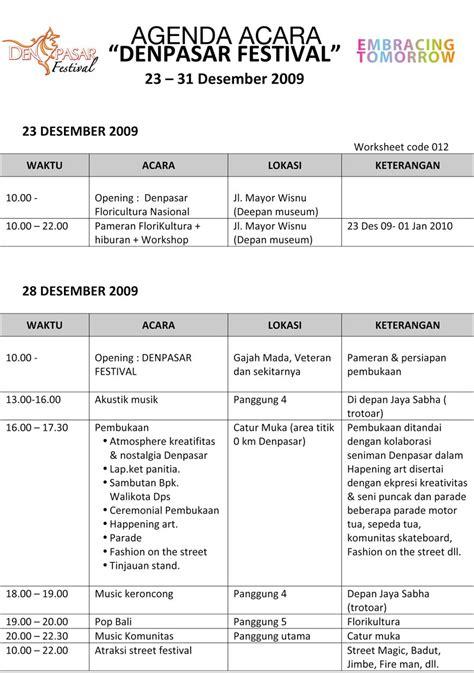 agenda acara denpasar festival komunitas kreatif bali
