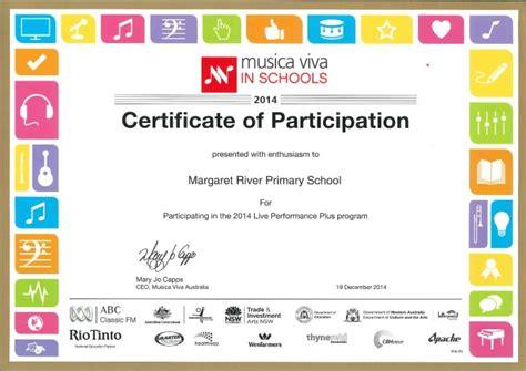 getting gold for musica viva margaret river primary
