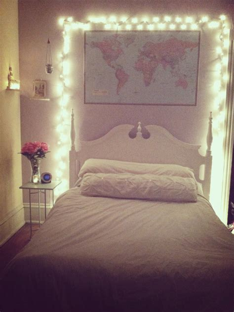 Bedroom With Lights Bedroom Lights Bedroom Aesthetic Bedroom Pinterest Light Bedroom Aesthetics