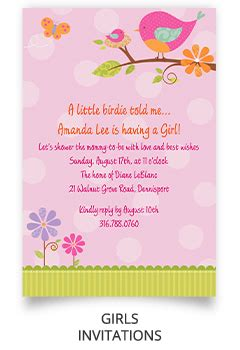 What Should I Bring To A Baby Shower by Invitations For Baby Shower Plumegiant