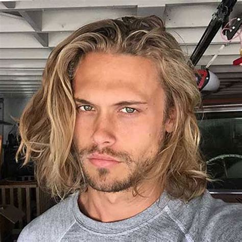 thin blonde long hair for men impactful hairstyles for balding men became inexpensive