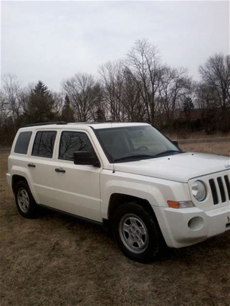 08 Jeep Patriot Buy Used Clean Ex Running 08 Jeep Patriot 4wd 4 Cyl Auto