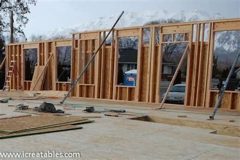 Build An A Frame by Step 11 Frame Exterior Walls Icreatables Com
