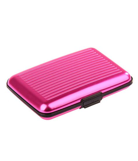 Pink Credit Card Digital by Escobar Pink Security Credit Card Wallet For