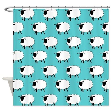 sheep shower curtain sheep shower curtain by applepip3