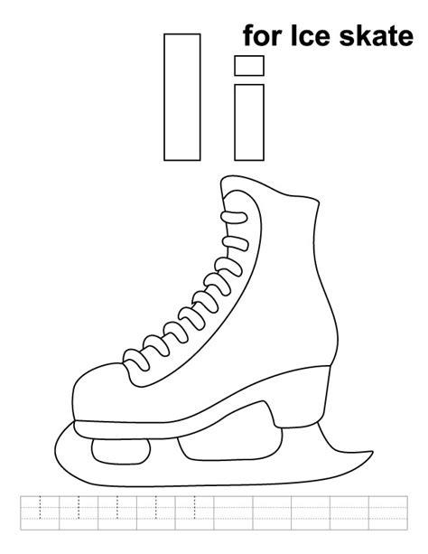 ice skating free printables ice skating printable coloring pages